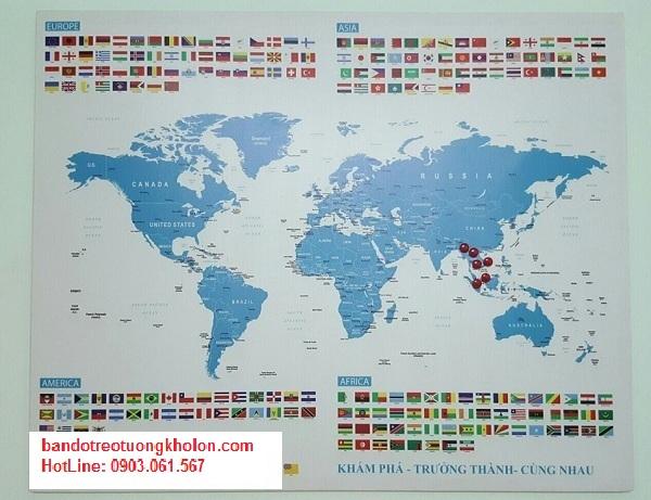 Giới thiệu của hàng để mua bản đồ thế giới ở hà nội