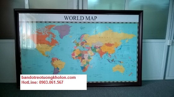 Chỉ điểm nơi bán bản đồ Thế Giới tại hà nội