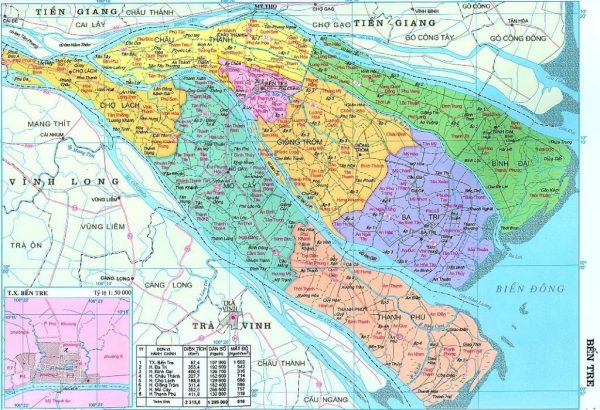 Bản đồ chi tiết các tỉnh thành ở Việt Nam