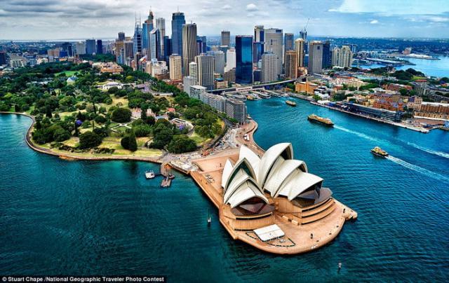 Đặc điểm nổi bật của nước Úc trên bản đồ thế giới
