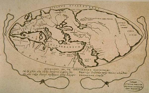 Bản đồ thế giới cổ đại có từ khi nào