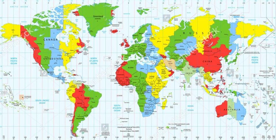 Mách bạn địa chỉ mua bản đồ thế giới uy tín tại TPHCM