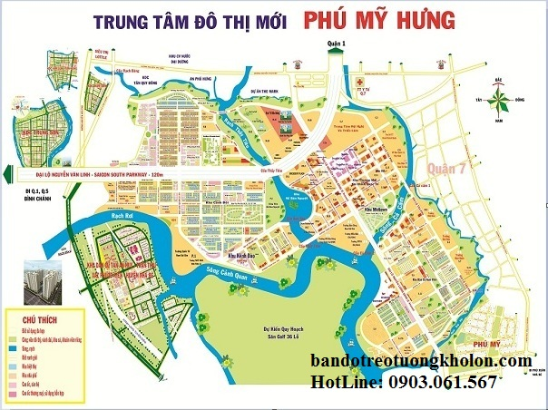 ban do phu my hung