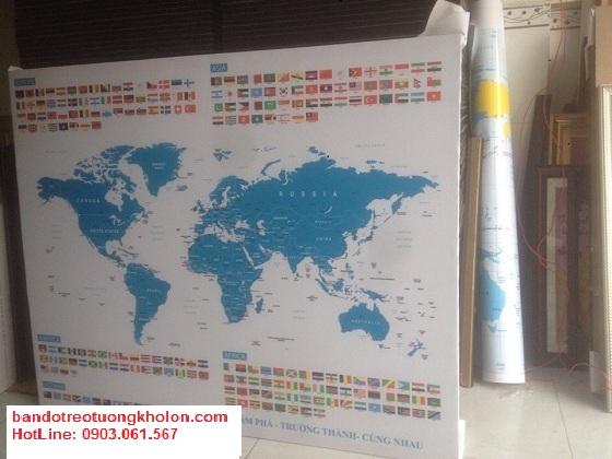Tổng quan về bản đồ thế giới