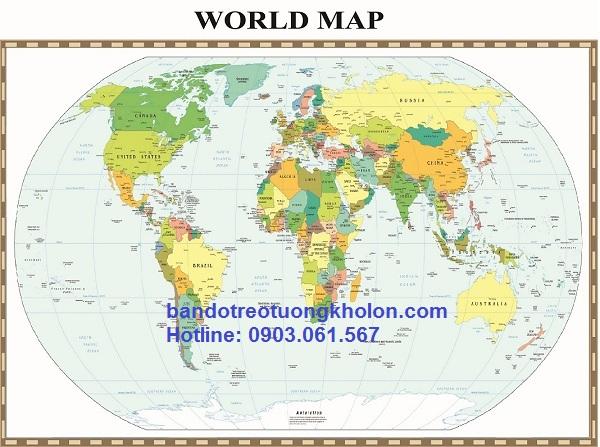 mua bản đồ thế giới