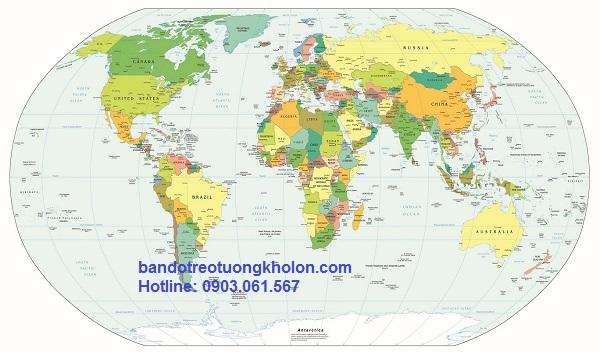 ban ban do hanh chinh the gioi