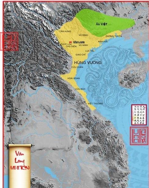 Bản đồ Việt Nam thời thực dân đô hộ