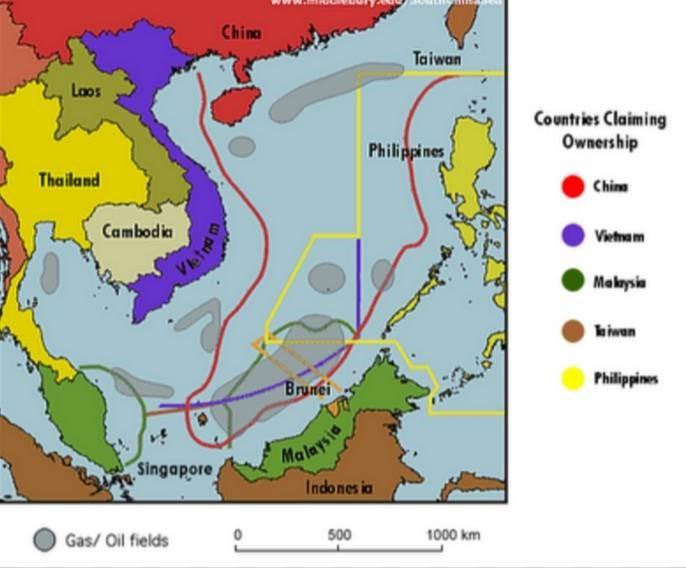 Bản đồ ranh giới biển Việt Nam