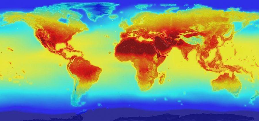 Bản đồ thế giới tương lai được thể hiện như thế nào?