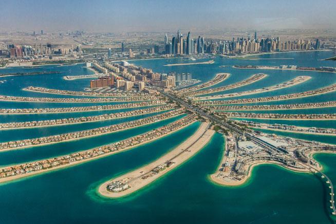 Dubai trên bản đồ thế giới cho ta biết những gì?