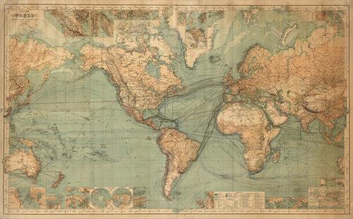 Khám phá tấm bản đồ thế giới vào thế kỷ 12