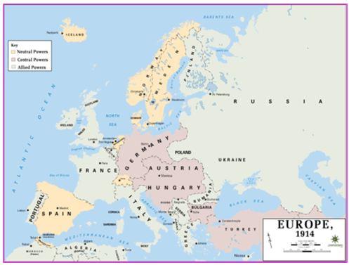 Bản đồ thế giới trước 1945 có gì đặc biệt?
