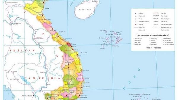 bản đồ miền Trung Tây Nguyên
