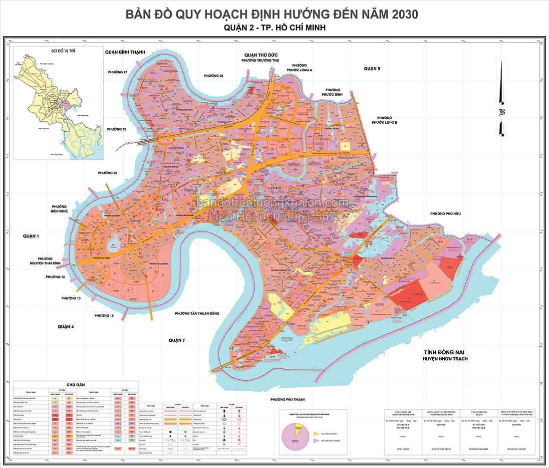 ban do quy hoach quan 2 Thanh Pho Ho Chi Minh
